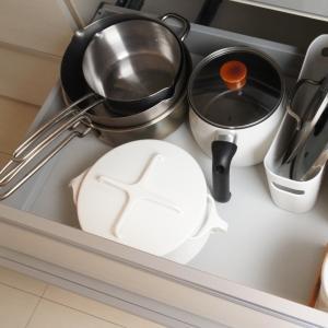 【キッチン】使いにくくて収納方法を変えたもの。