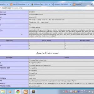 XAMPPによるPHP開発環境の構築 (Windows, OS X対応)