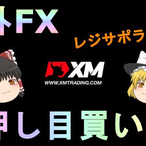 【FX】【ゆっくり実況】必勝!!レジサポラインを使って押し目買い!!