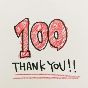 ブログ100記事達成! 2つの変化と続けられた3つの理由