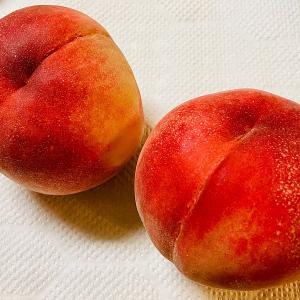 栄養や効能が気になるは職業病か ~たとえば桃を食べたら~