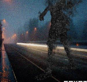 闇より黒い巨大な獣人が目撃される ~ リンカンシャーのジャイアント