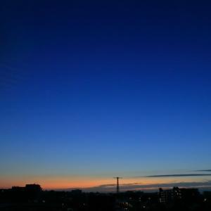 今朝は寒い