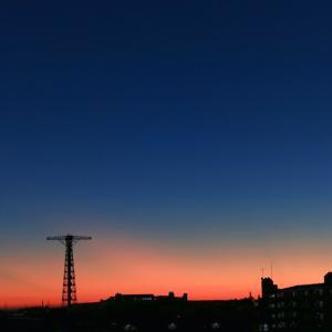 【朝焼け】今日の夜明け