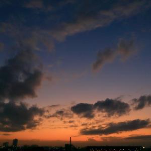 【夕焼け】今日の日没【サンセット】