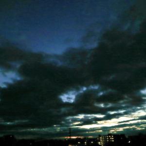 【空模様】今日の朝焼け【サンライズ】
