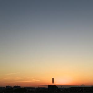 【空模様】今日の夕焼け【サンライズ】