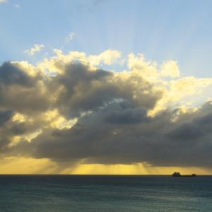【空模様】今日の夕焼け(サイパン)【サンセット】
