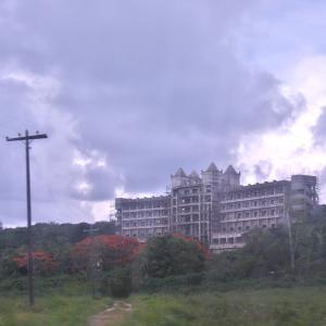 【サイパン】Saipan Island Abandoned Resort Hotel !【空港近くの未完成ホテル】