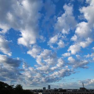 【空模様】今日の空【朝と夕】