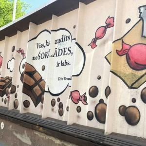 ラトビア「Laima」チョコレート博物館、25年ぶりの海外街ぶら歩き