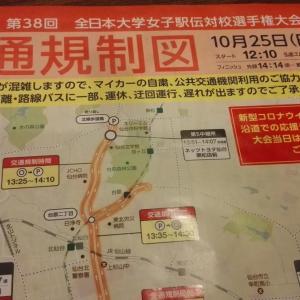 今年は中止の大会が多い中、10月25日に全日本大学女子駅伝が行われます。