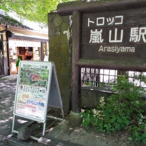 【京都旅】嵐山で散策、山を登って竹林の小径、トロッコ嵐山駅まで向かいました