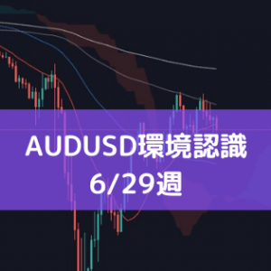 6/29週のAUDUSD環境認識とエントリーポイント