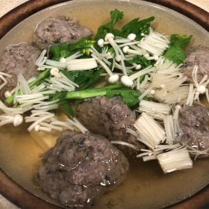 ojiichanの鍋奉行30 「つみれ鍋」