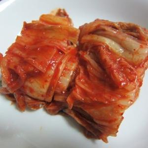 上野の焼肉とキムチ