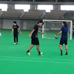 日本代表中澤選手のサッカースクール