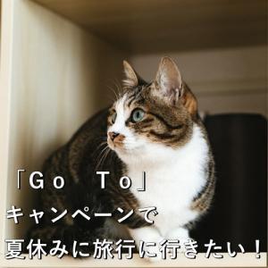 「Go To」キャンペーンで夏休みに旅行に行きたい!