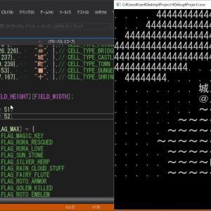 ドラクエを小一時間で作ってみた(フィールド、イベント編)【プログラミング実況】