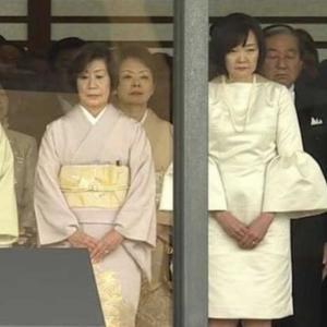 即位礼正殿の儀 安倍昭恵 夫人 の白色ひざ丈ドレスに 小倉智昭 「あの式典にはちょっとなって思いました」