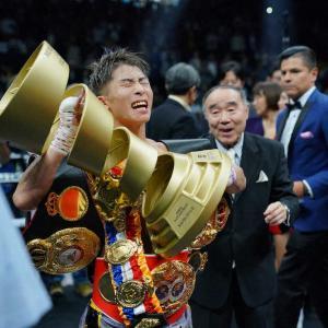 【ボクシング】 井上尚弥 が 世界一 の称号>視聴率平均15・2%!瞬間最高20・5%