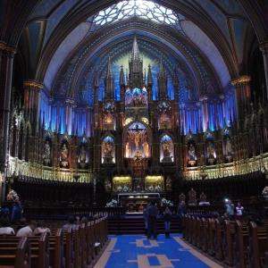 モントリオール ノートルダム聖堂