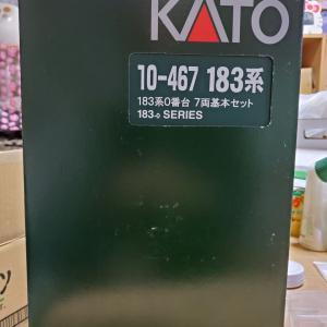 KATO 10-467 183系0番台7両基本セット