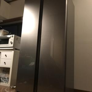 でっかい冷蔵庫が来た