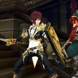 超感謝! 煌めく貴族戦闘服をGETです