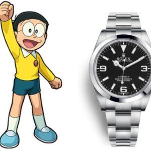 野比のび太の腕時計|エクスプローラー1だったという衝撃