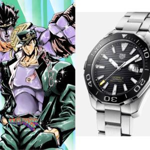 空条承太郎の腕時計|時計はなまいきにタグホイヤーだがな
