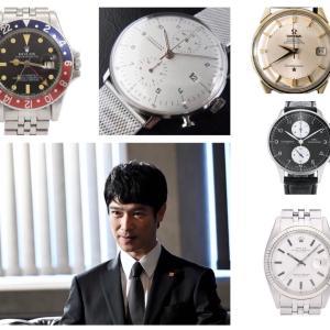 堺雅人の腕時計|映画やドラマで着けたモデル&私物?