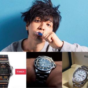 生田斗真の腕時計