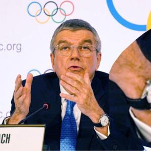 IOC トーマス・バッハ会長の腕時計|オメガのオリンピックモデル