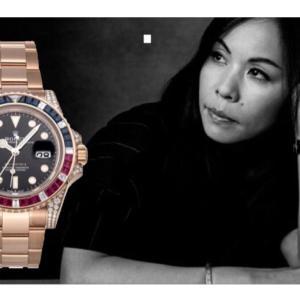 サカイ(sacai)デザイナー 阿部千登勢さんの腕時計