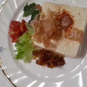 豆腐サラダワンプレート