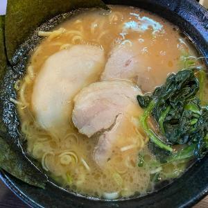 マイルドスープに醤油だれがキリッと効いた家系ラーメン「らーめん 青木商店」@星川