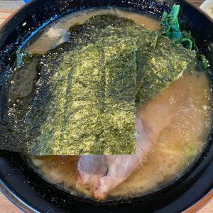 ワイルドかつキレのあるスープの家系ラーメン「梅家舎弟」@本厚木