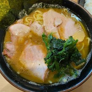 輝道家直系「皇綱家」のチャーシューラーメンとライス(食べ放題)@池袋