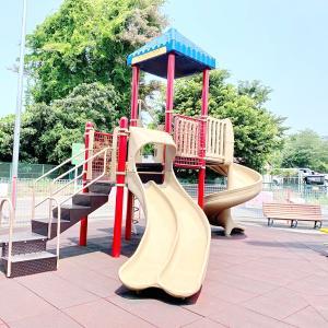 おやまゆうえんハーヴェストウォークの子どもの遊び場を紹介!遊具や水遊びも!|小山市