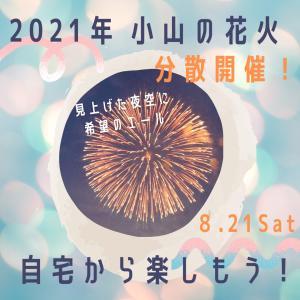 【2021年は分散開催!】8月21日・おやまサマーフェスティバル2021(第69回小山の花火) 自宅で楽しもう!