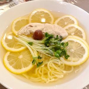 【美味茶寮はぎわら】塩レモン冷麺はさっぱり爽やかで暑い日にぴったり! 城東