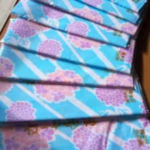 可愛い柄のダブルガーゼからブラウス作り♪【着物リメイク彩*AYA*】