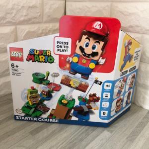 LEGOスーパーマリオを作ってみた【動画あり】