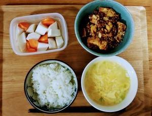 ダイエット夜ごはんと麻婆豆腐の素