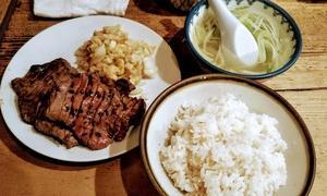 体重急増と開き直りの牛タン定食