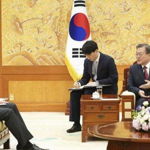 韓国がGSOMIAの延長を日本側に伝えてきた