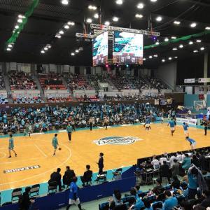 京都ハンナリーズ vs 滋賀レイクスターズ