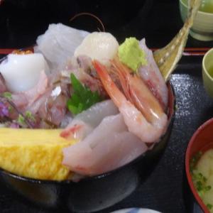 小田原漁港でお昼で、西海子小路と文学館で帰ります。…③