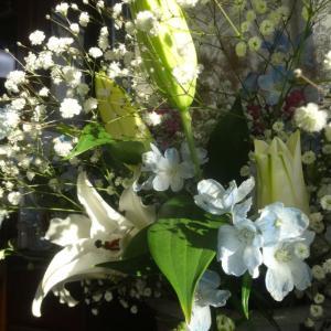 百合の花香り…